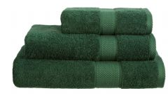 Bottle Green 100% Cotton Turkish Ringspun Towel 500 Gsm